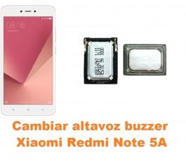 Cambiar altavoz buzzer Xiaomi Redmi Note 5A