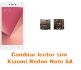 Cambiar lector sim Xiaomi Redmi Note 5A