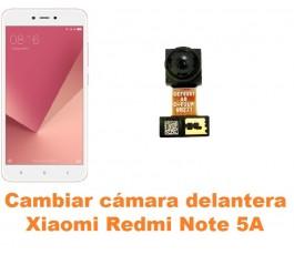 Cambiar cámara delantera Xiaomi Redmi Note 5A