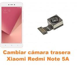 Cambiar cámara trasera Xiaomi Redmi Note 5A