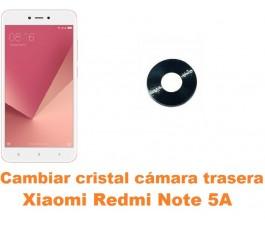 Cambiar cristal cámara trasera Xiaomi Redmi Note 5A