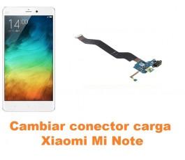 Cambiar conector carga Xiaomi Mi Note