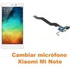 Cambiar micrófono Xiaomi Mi Note