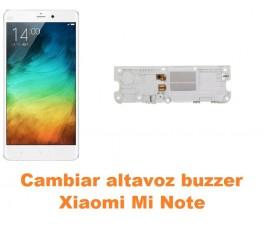 Cambiar altavoz buzzer Xiaomi Mi Note