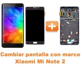 Cambiar pantalla completa con marco Xiaomi Mi Note 2