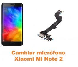Cambiar micrófono Xiaomi Mi Note 2