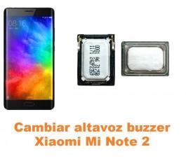 Cambiar altavoz buzzer Xiaomi Mi Note 2