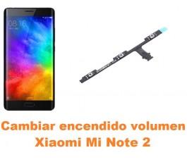 Cambiar encendido y volumen Xiaomi Mi Note 2