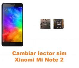 Cambiar lector sim Xiaomi Mi Note 2
