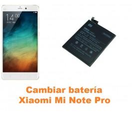 Cambiar batería Xiaomi Mi Note Pro