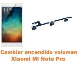 Cambiar encendido y volumen Xiaomi Mi Note Pro