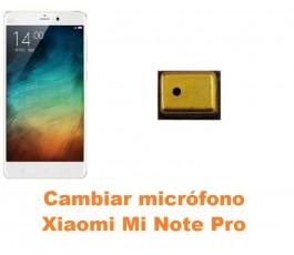 Cambiar micrófono Xiaomi Mi Note Pro