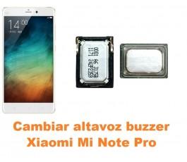 Cambiar altavoz buzzer Xiaomi Mi Note Pro