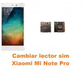 Cambiar lector sim Xiaomi Mi Note Pro
