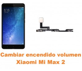 Cambiar encendido y volumen Xiaomi Mi Max 2