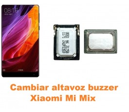 Cambiar altavoz buzzer Xiaomi Mi Mix