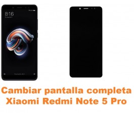 Cambiar pantalla completa Xiaomi Redmi Note 5 Pro