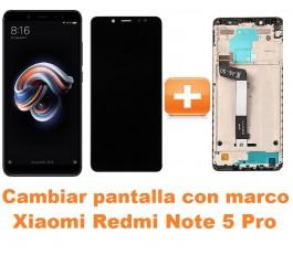 Cambiar pantalla completa con marco Xiaomi Redmi Note 5 Pro