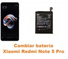 Cambiar batería Xiaomi Redmi Note 5 Pro