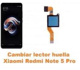Cambiar lector huella Xiaomi Redmi Note 5 Pro