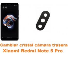 Cambiar cristal cámara trasera Xiaomi Redmi Note 5 Pro