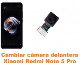 Cambiar cámara delantera Xiaomi Redmi Note 5 Pro