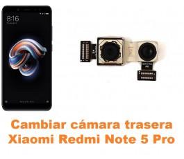 Cambiar cámara trasera Xiaomi Redmi Note 5 Pro