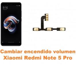 Cambiar encendido y volumen Xiaomi Redmi Note 5 Pro