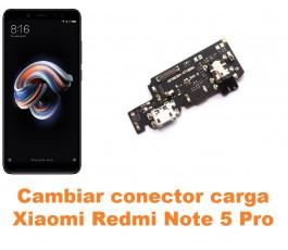 Cambiar conector carga Xiaomi Redmi Note 5 Pro