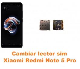Cambiar lector sim Xiaomi Redmi Note 5 Pro