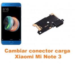 Cambiar conector carga Xiaomi Mi Note 3