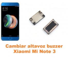 Cambiar altavoz buzzer Xiaomi Mi Note 3