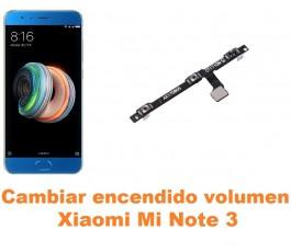Cambiar encendido y volumen Xiaomi Mi Note 3