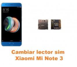 Cambiar lector sim Xiaomi Mi Note 3