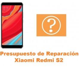 Presupuesto de reparación Xiaomi Redmi S2
