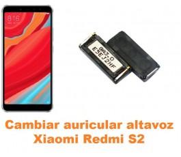 Cambiar auricular altavoz Xiaomi Redmi S2