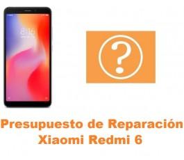 Presupuesto de reparación Xiaomi Redmi 6