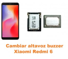 Cambiar altavoz buzzer Xiaomi Redmi 6