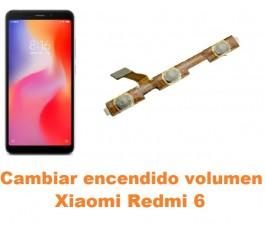 Cambiar encendido y volumen Xiaomi Redmi 6