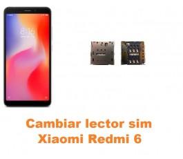 Cambiar lector sim Xiaomi Redmi 6