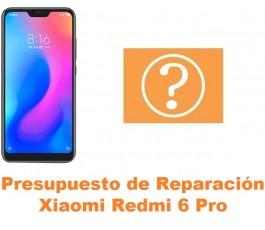 Presupuesto de reparación Xiaomi Redmi 6 Pro