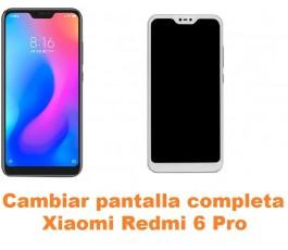Cambiar pantalla completa Xiaomi Redmi 6 Pro