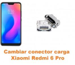 Cambiar conector carga Xiaomi Redmi 6 Pro