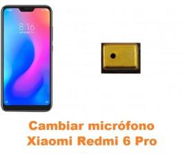 Cambiar micrófono Xiaomi Redmi 6 Pro