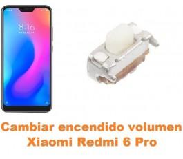 Cambiar encendido y volumen Xiaomi Redmi 6 Pro