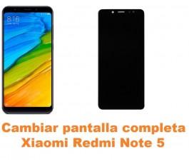 Cambiar pantalla completa Xiaomi Redmi Note 5