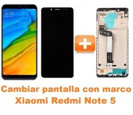 Cambiar pantalla completa con marco Xiaomi Redmi Note 5