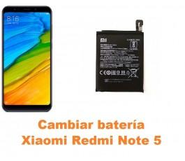Cambiar batería Xiaomi Redmi Note 5