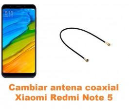 Cambiar antena coaxial Xiaomi Redmi Note 5