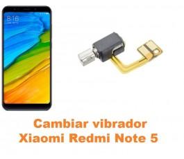 Cambiar vibrador Xiaomi Redmi Note 5